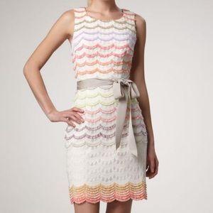 Trina Turk Keller Scalloped Casual Dress 6